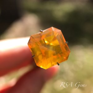 Fire Opal gemstone