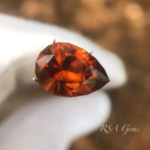 Red Brown Zircon
