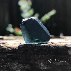 Sapphire facet rough