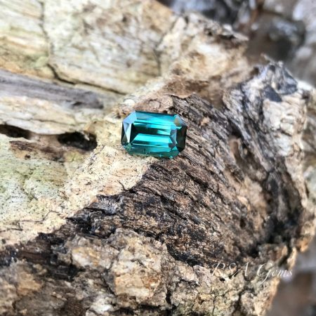 Bluegreen tourmaline